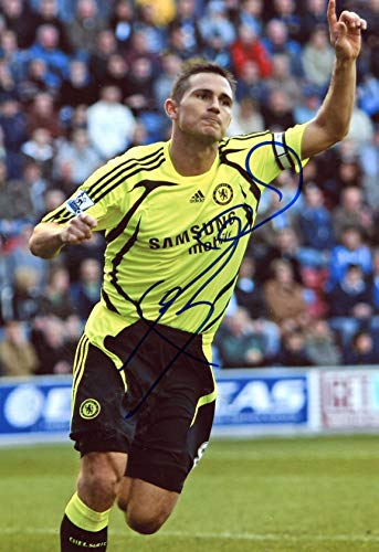 TOP SOCCER Frank Lampard FC CHELSEA autograph, IP signed photo - Frank Lampard Chelsea Fc