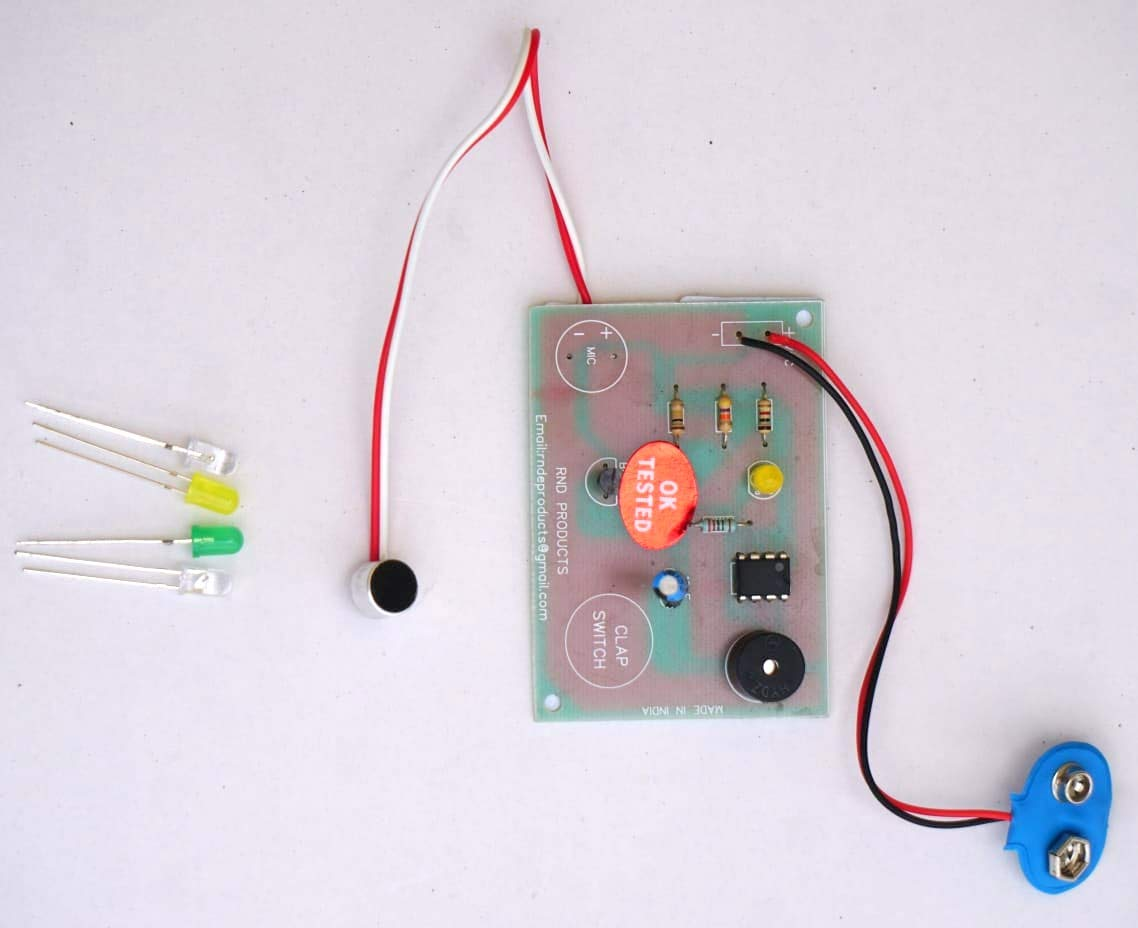 Buy Science Project For Students Clap Switch Kit Online At Low How To Use The Diy Build Circuit Prices In India