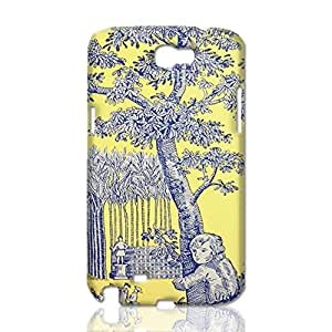 a rural scene 3D Rough Case Skin, fashion design image custom, durable hard 3D , Case New Design For Case Samsung Galaxy S4 I9500 Cover , By Codystore