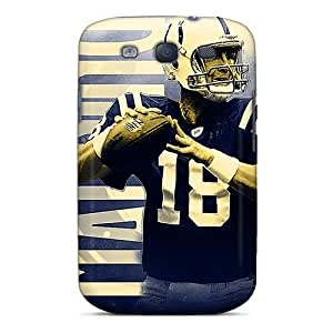 For Galaxy S3 Premium Tpu Case Cover Indianapolis Colts Protective Case
