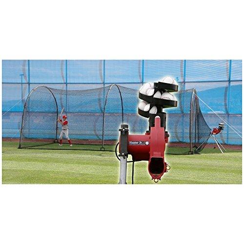 Heater Sports 24 ft. Jr. Pitching Machine & Xtender 24ft Bat