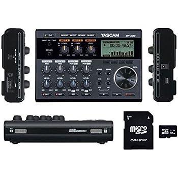 tascam dp 006 6 track digital multitrack recorder with ev music 32gb sd card. Black Bedroom Furniture Sets. Home Design Ideas