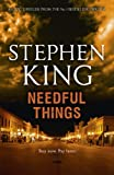 Front cover for the book Needful Things by Stephen King