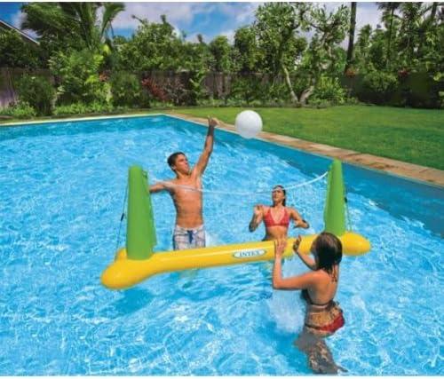 Juego de voleibol hinchable para piscina, para adultos, marca ...