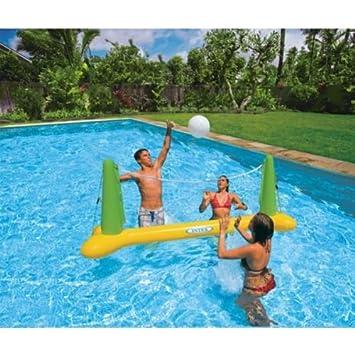 Juego de voleibol hinchable para piscina, para adultos, marca Intex.: Amazon.es: Jardín