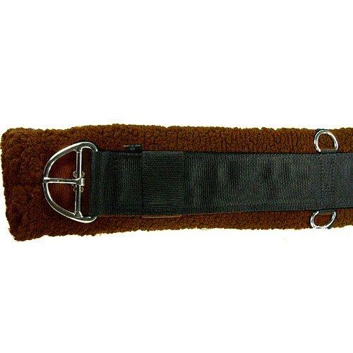 UPC 754888036315, Intrepid International Western Fleece Cinch Girth, Brown, 34-Inch