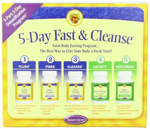 Secret 5 jours Kit rapide et nettoyer la nature