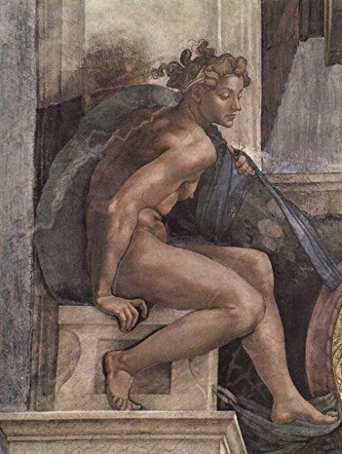 Lais Puzzle Michelangelo Buonarroti sur Plafond fresque sur Buonarroti l'histoire de la création dans la Chapelle Sixtine, Jeune Homme 1000 Pieces B07DLF49BV 2fb2bd