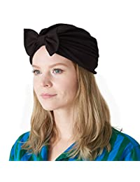 CHARM Casualbox | Bow Fashion Turban Hat Twist Ribbon Kawaii Boho Headwrap Chemo