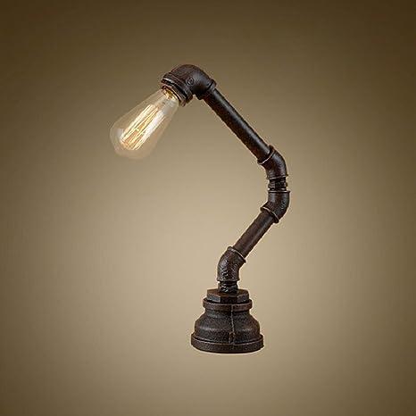 SJQKA-Lámpara de mesa creativos, después de antiguas ...