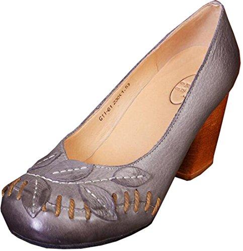Laruise Laruise Women's Laruise Grey shoes Leather Leather Women's Women's Grey shoes Leather f08Axdqqw