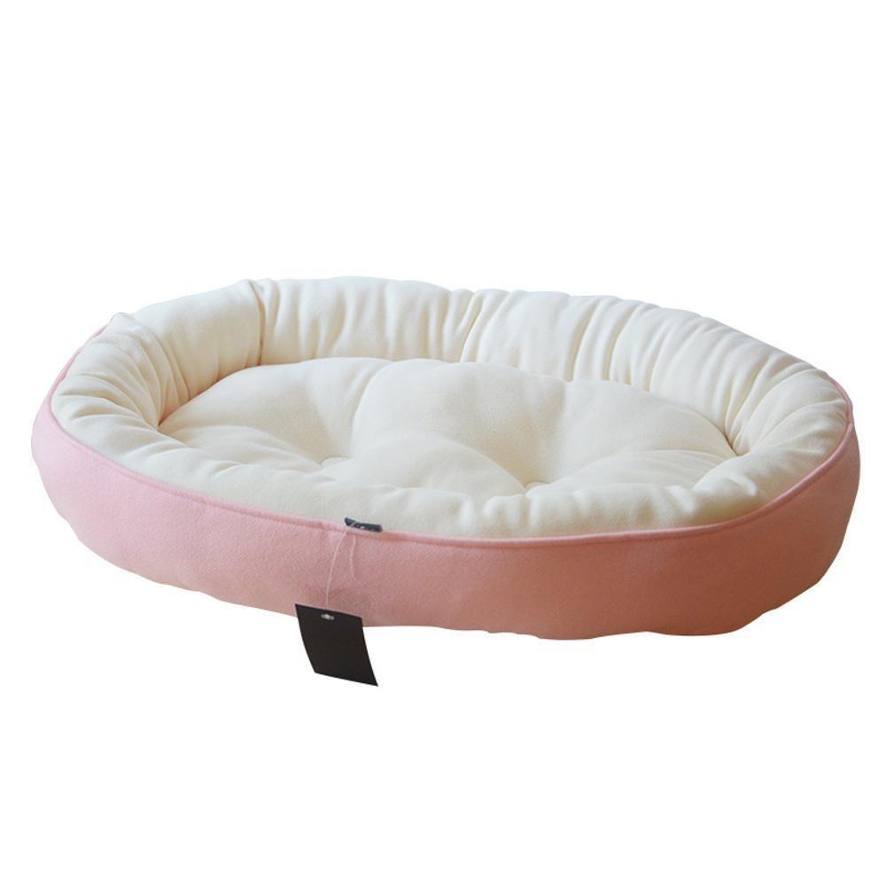 C SDaeou Pet mat Kennel Dog Bed Double cat Nest Teddy Cat Dog mat Velvet face Autumn Winter Warm pet Supplies