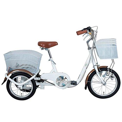 ミムゴ(MIMUGO) スイングチャーリー ロータイプ三輪自転車(ホワイト) MG-TRE16-WH ホワイト B00C54BK26