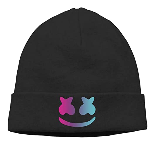 a5c152c60c5 Amazon.com  Women s Men s Knitted Hat DJ Marshmello Cap Street Dance ...