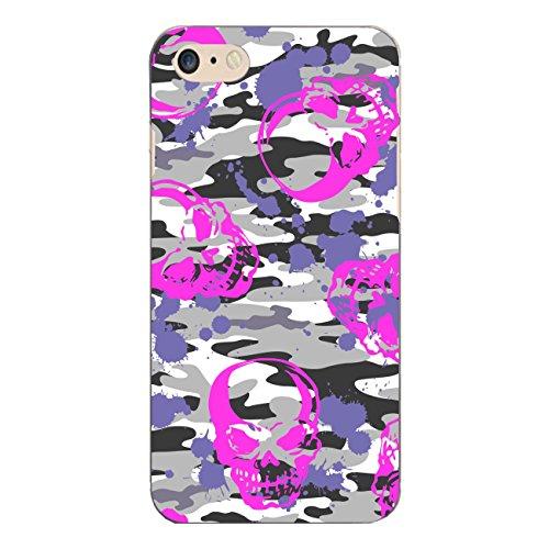 "Disagu Design Case Schutzhülle für Apple iPhone 7 Hülle Cover - Motiv ""Pink-Skull-Camouflage"""