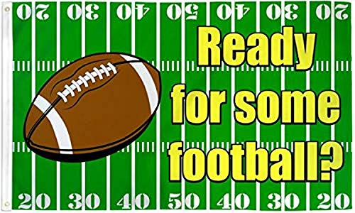 Best Flags Ready for Some Football 3x5ft Poly Seasonal Flag, Multi