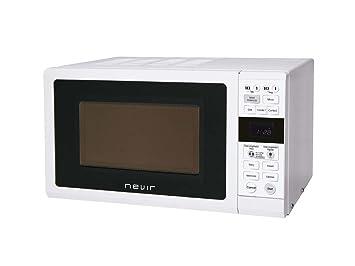 Microondas grill 25l nvr6131mdg25 blanco