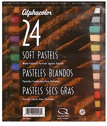 Alphacolor Soft Pastel Sets (Portrait Colors) - Set of 24 1 pcs sku# 1837806MA