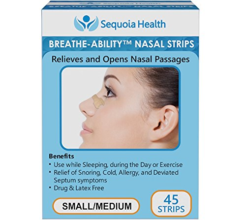 Nasal Strips 45 COUNT Breathe Ability product image