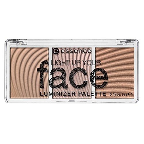 essence Light Up Your Face Luminizer Palette, 10 Ready,Set, (Face Luminizer)