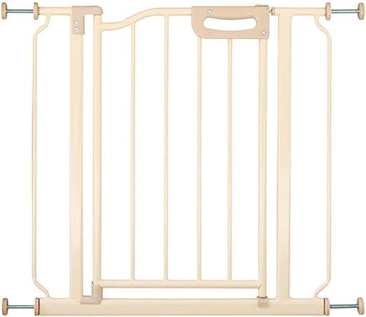 Puerta De Seguridad para Niños Barandilla De La Escalera Cercado De Mascotas Cerca De Perro Aislamiento Puerta Perforación Libre Encriptación LEBAO (Color : A): Amazon.es: Hogar