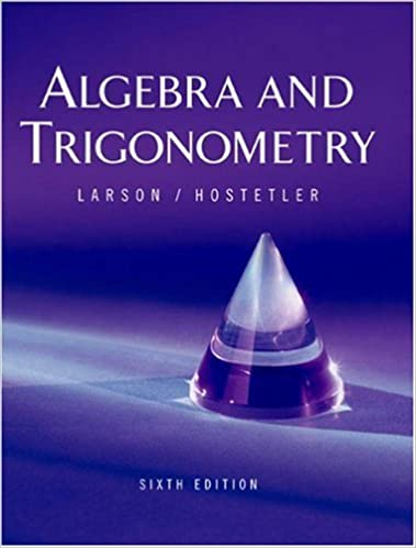 Algebra and trigonometry 6th edition ron larson robert p algebra and trigonometry 6th edition 6th edition fandeluxe Choice Image