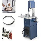 ARKSEN© Meat Band Saw & Grinder Dual Electric, 550w, 3/4HP, (2 Free Blades)
