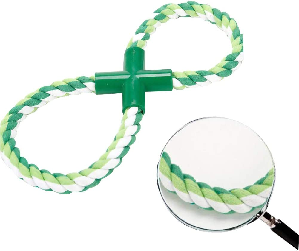 Ouken Rope Dog Toys Interactive Stretchy Figure Eight Loop ...