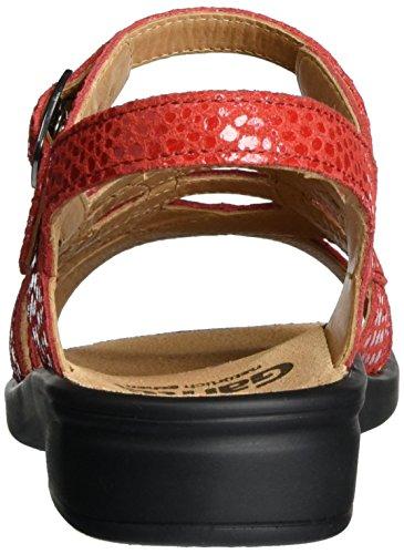 Ganter Sonnica-e - Sandalias Mujer Rojo