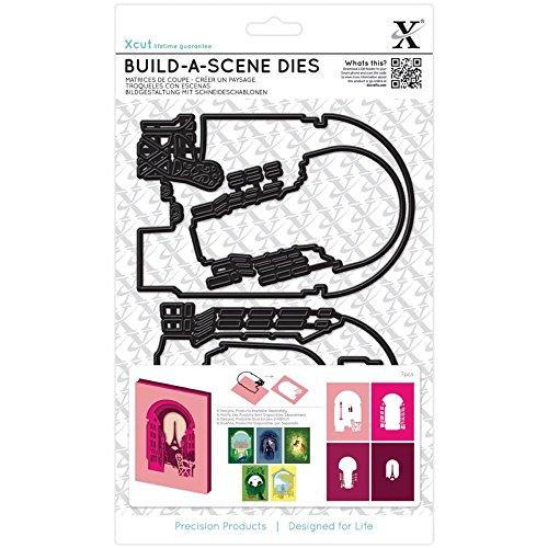 XCUT 7-Piece Parisian Street Shadow Box Die