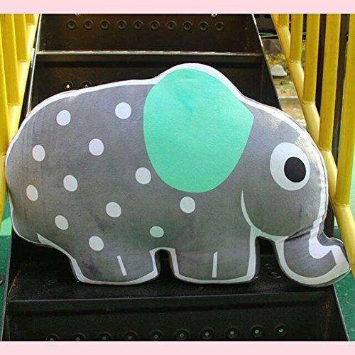 [Hot Large Cartoon Animals Elephant Pillow Dolls Stuffed Toys Baby Children Pillows Decoration Cushions Big Fat] (Diy Fire Truck Halloween Costume)