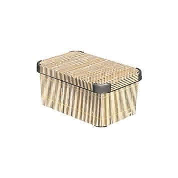 Amazon Curver Decorative Plastic Storage Box With Cover Lid Simple Decorative Plastic Storage Boxes