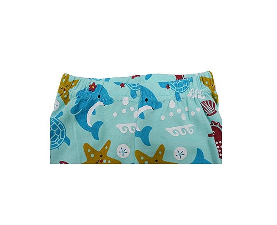 Size 2T-7T Pandaprince Girls Starfish 2 Piece Pajama shorts 100/% Cotton