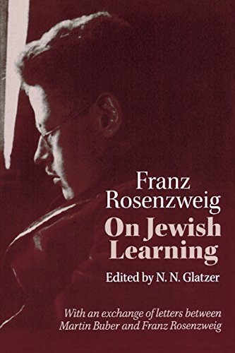 On Jewish Learning (Modern Jewish Philosophy and...