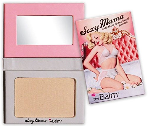 The Balm Sexy Mama Anti Shine Translucent Face Pressed Powder 0.25 Ounce ()