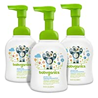 Babyganics Alcohol-Free Foaming Hand Sanitizer, Fragrance Free, 8.45oz Pump B...