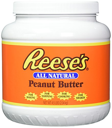 (Reese's All-Natural Peanut Butter - 4.5 lb. Jar)