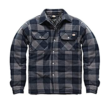 Dickies Portland Shirt High Quality Padded Work Shirt Jacket Polar ...