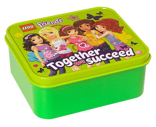 Lego Friends Lunch Box, verde Lego Italy L4050DP
