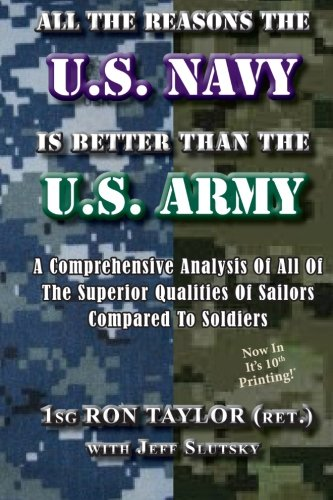 (All The Reasons The U.S. Navy Is Better Than The U.S. Army: A Comprehensive Analysis Of All Of The Superior Qualities Of Sailors Compared To Soldiers.)