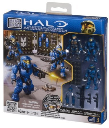 Mega Bloks Halo UNSC Cobalt Combat Unit by 5Star-TD