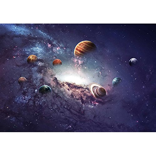 wall26 - High Resolution Images Presents Creating Planets of The Solar System. - Removable Wall Mural | Self-Adhesive Large Wallpaper - 100x144 inches by wall26 (Image #1)
