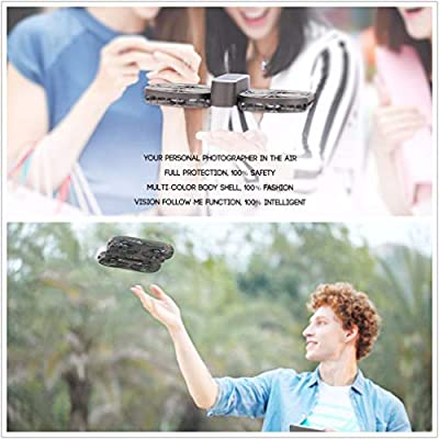 LSQR Self-Timer Drone 4 Axes Remote Control Aircraft Aerial Photograph GPS Tracking Positioning Video RC Plane