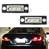 Best Assemblies With Equips - GemPro 2Pcs LED Car License Plate Light Lamp Review