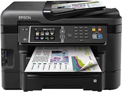 Epson Wf 3640dtwf Multifunktionsgerät Scanner Kopierer Drucker Und Usb Schwarz Elektronik