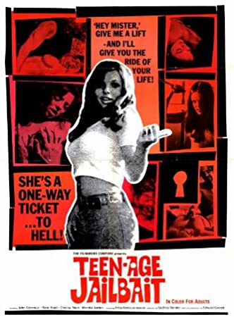 Anestésico Paja blanco  Amazon.com: Pop Culture Graphics Teenage Jailbait Poster Movie 11x17 John  Alderman Rene Bond Chesley Noon Marsha Jordan: Furniture & Decor