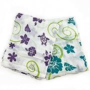 Bambino Land Muslin Organic Blanket - Hawaiian 2 Pack
