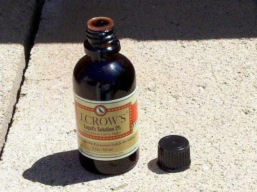 J.Crow's Lugol's Iodine Solution, 2 oz., Twin Pack (2 Bot.) (Solution Lugols Iodine)