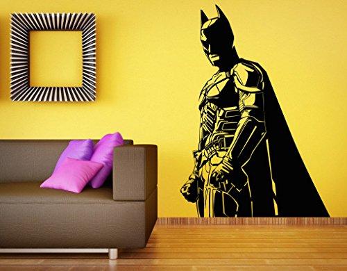 Batman Wall Decal Vinyl Sticker The Dark Knight Superhero Decal Home Mural Kids Room - Batman Mural