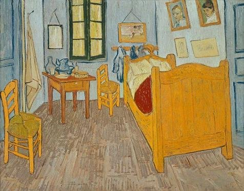 Costa Native Costumes Rica (The High Quality Polyster Canvas Of Oil Painting 'The Bedroom-Vincent Van Gogh,1888' ,size: 18x23 Inch / 46x58 Cm ,this Reproductions Art Decorative Prints On Canvas Is Fit For Hallway Gallery)